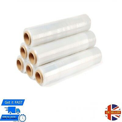 1 X New Strong Clear Pallet Stretch Shrink Wrap Cast Parcel Packing Cling Film