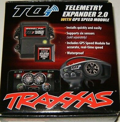 Traxxas TQi Telemetry Expander 2.0 Waterproof With GPS Speed Module TRA6553X