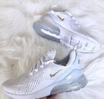 522a2e806d LADIES NEW NIKE Air Max 270 Custom Bling With Swarovski Crystals ...