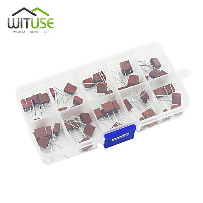 50Pcs/Box 0.5A-6.3AMP 250V 392 Style Square Plastic Fuses for TV Power Board D3