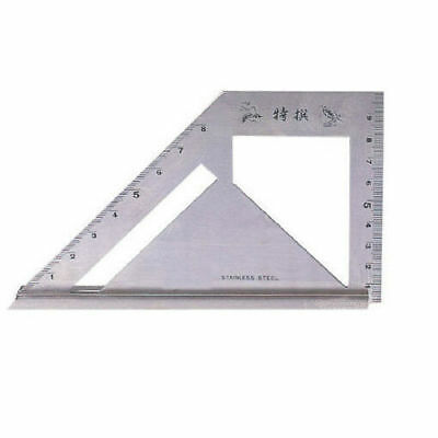 SB Corp MT-4590 Square Meter Angle Protractor Carpenter Tool Stainless _RC