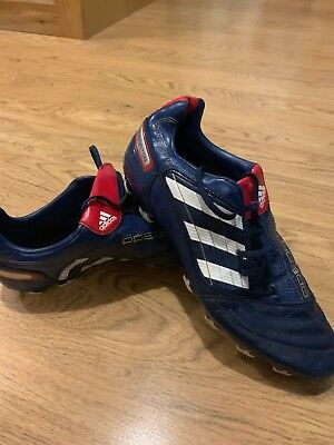 huge discount 6146e 2c0aa Adidas Predator Absolado TRX FG Blue Football Boots Size UK 11 US 11.5 EUR  46