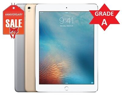 "Apple iPad Pro 12.9"" Wi-Fi Touch ID I 32GB 128GB or 256GB I GOLD GRAY SILVER (R)"