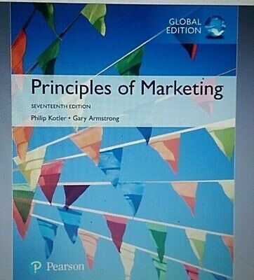 Principles of Marketing 17th Edition by Philip Kotler
