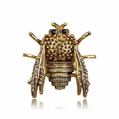 Vintage Animal Cicada Brooches for Women Brooch Pin Fashion Dress Jewelry WQ