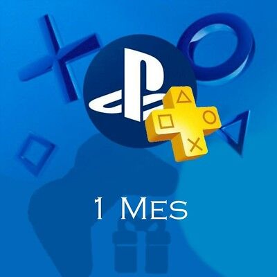 PSN 1 Mes PlayStation PS Plus PS4-PS3 -Vita (NO CÓDIGO) LEER DESCRIPCION