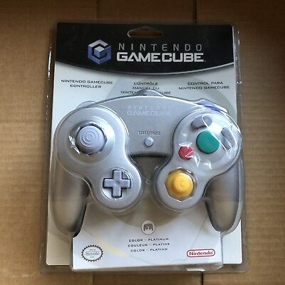 Official Nintendo Gamecube Controller Platinum Brand New In Package DOL-003
