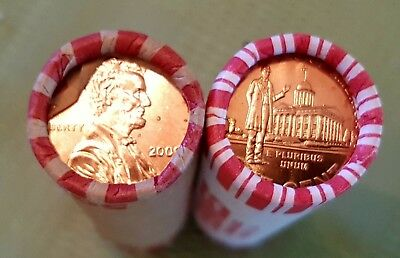 2009 P & D Lincoln Cent Professional Life US Uncirculated Rolls
