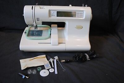 Baby Lock Espree EM1 Embroidery Sewing Machine with Accessories