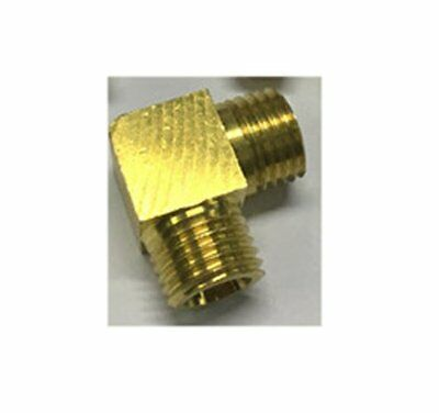 Pipe 1//8 NPT Male X M12 M12X1 Female Metric Adapter Fitting Oil Fuel Air