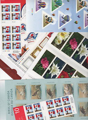 CANADA  postage lot 47 cent SELF STICK BOOKLETS $46.00 Face your price $37.60