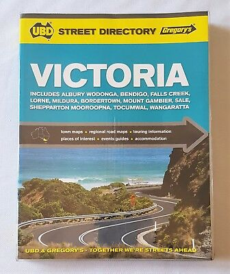 Ubd Victoria Town Street Directory - Edition 17 - 2013 - Excellent Condition