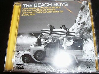 THE BEACH BOYS Icon: Greatest Hits Very Best Of CD – New