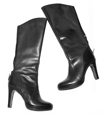 0484ca292e31 Duo Ted and Muffy Tall Heel Boot Knee High Sz 41 USA Size 10 UK 8