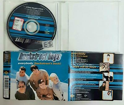 Backstreet Boys ‎– Everybody (Backstreet's Back) Cd Single  Singolo