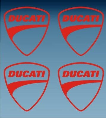 Sticker Vinilo Pegatina Decal Vinyl Autocollant Adesivi Ducati Escudo Monster