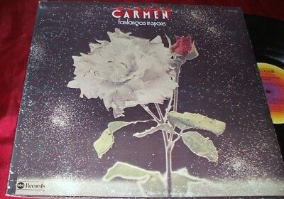 CARMEN  Fandangos in Space LP ORIGINAL 1974 PROG ROCK