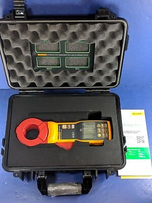 New Fluke 1630-2 FC Earth Ground Clamp, Case, Accessories