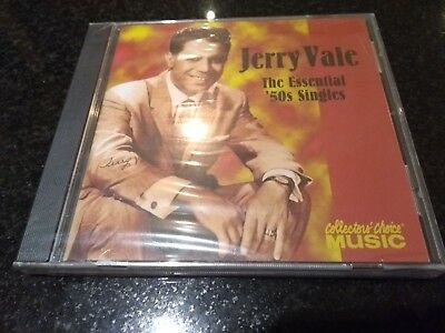 JERRY VALE THE ESSENTIAL 50s SINGLES (BEST OF) CD NEW & SEALED