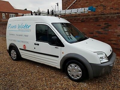 Ford Transit Connect T230 LWB Window Cleaning Van 2006 No VAT