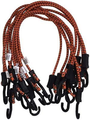 Kotap MABC-32 Adjustable Black Cords with Bungee Accents, 32-Inch, Orange