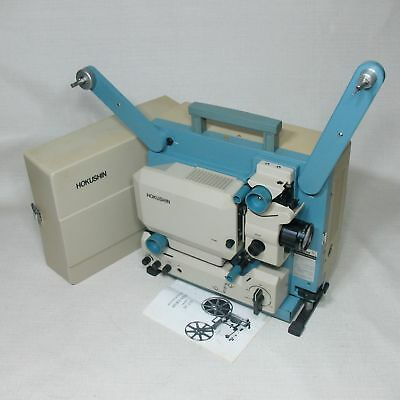 HOKUSHIN SC-210 16MM Sound Movie Projector Made In Japan Need Left Reel Belt