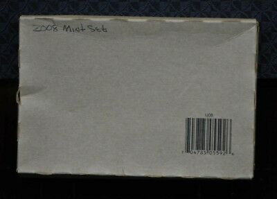 Sealed 2008 United States Mint P&D Uncirculated Coin Set [01DUD]