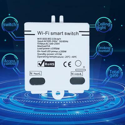 Smart Home WiFi Wireless Switch Module Monitor For IOS Android System Control