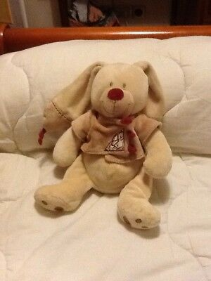 DOUDOU PELUCHE LAPIN Beige Bastien Nicotoy The Plushies Collection ... 175711bcd87