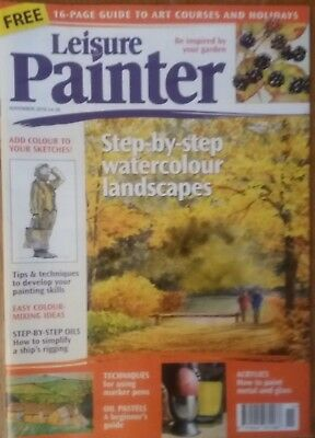 LEISURE PAINTER MAGAZINE -  November 2018