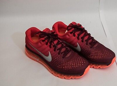 best service 44d9e 5f138 Men s Nike Air Max 2017 Running Shoes Maroon Red   White Sz 10 849559 601