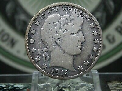 "1913 ""P"" Barber Half Dollar 50c #2 KEY DATE East Coast Coin & Collectables, Inc."
