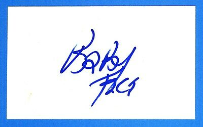 Kenny Babyface Edmonds Singer, Record Producer, Songwriter Signed 3x5 Card X0840