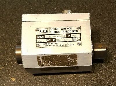 GSE Socket Wrench Torque Transducer 100 ft Lbs