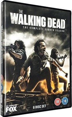 The Walking Dead Season 8 DVD Region 2 Brand New Sealed Fast & Quick Postage