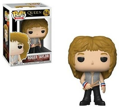 Queen - Roger Taylor - Funko Pop! Rocks: (2019, Toy NEUF)