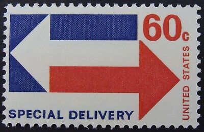 Stamp US 60c Stylized Arrows, (Special Delivery) Cat. #E23 Mint NH/OG