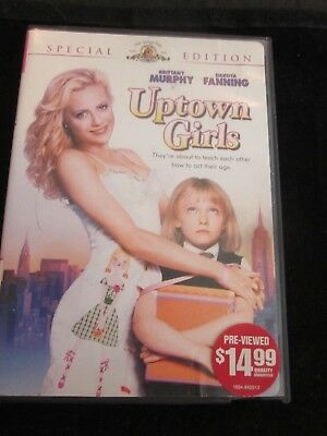 Uptown Girls Special Edition Movie Dvd Dakota Fanning Brittany Murphy Used