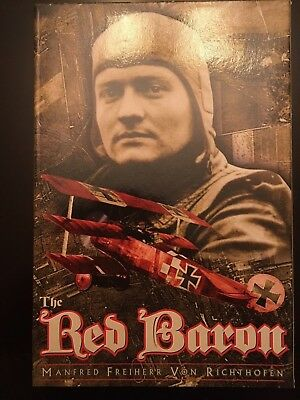 "The Red Baron Collectible 12 Inch Figure Manfred Freiherr Von Richthofen ""new"""
