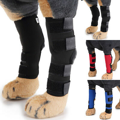 2xPet Dog Elbow Leg Knee Protection Pad For Preventing Injury Help Wound Healing