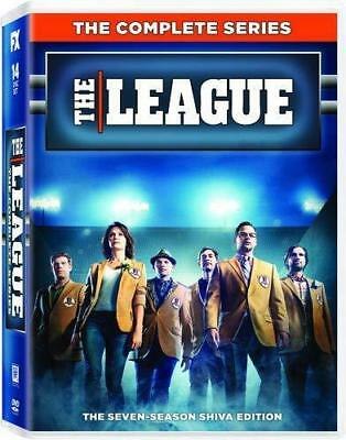 THE LEAGUE 1-7 (2009-2015): COMPLETE Comedy FX TV Season Series - NEW Rg1 DVD