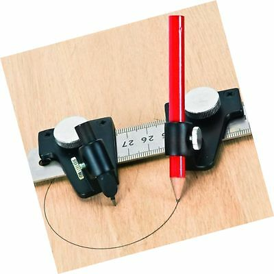 Trammel Set with Hyper Fine Snap Off Dispensable Blade Complete Flat Lying