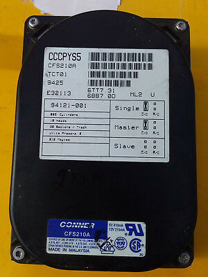 Vintage 286 386 486 Ide 250Mb Hard Drive With No Bad Sectors  Working Condition