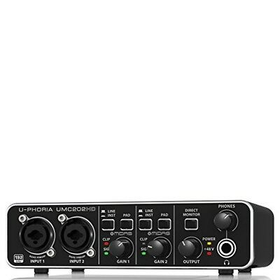 BEHRINGER U-PHORIA 2-Channel UMC202HD