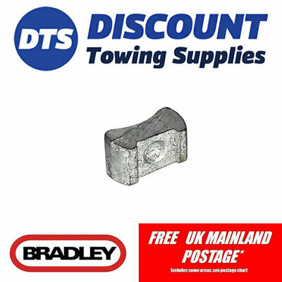 Bradley Replacement Jockey Wheel Pad For HU12 Trailer Couplings