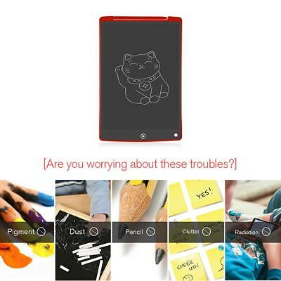 12in LCD Electronic Portable Writing Tablet Digital Drawing Handwriting Kid Pad