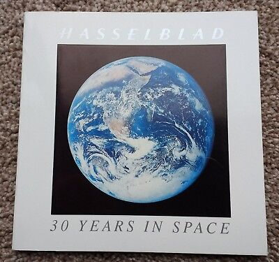 Hasselblad 30 Years in Space - Camera Book / Catalogue 1992 - NASA Moon - Rare