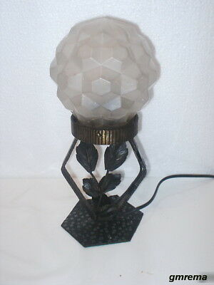 ORIGINAL FRANZÖSISCHE ART  DECO TISCHLAMPE  um 1925  FRENCH ART DECO TABLE LAMP