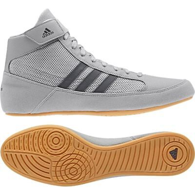 Adidas Havoc Wrestling Grey Adult Mens Womens Boxing Boots Gym Training Shoes