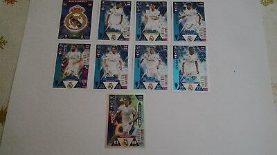 Lote Topps Match Attax Champions League 2018 19 Real Madrid Winners Y Exclusive